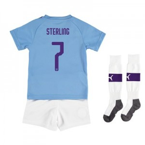 Manchester City Cup Home Mini Kit 2019-20 with Sterling 7 printing All items