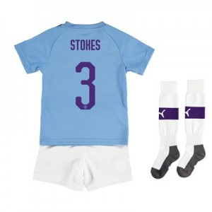 Manchester City Cup Home Mini Kit 2019-20 with Stokes 3 printing All items