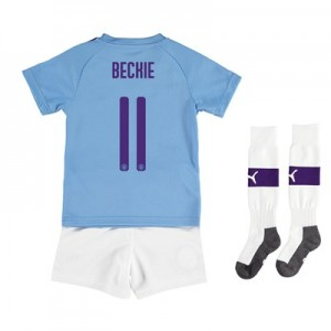 Manchester City Cup Home Mini Kit 2019-20 with BECKIE 11 printing All items
