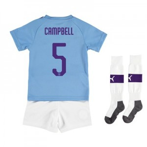 Manchester City Cup Home Mini Kit 2019-20 with Campbell 5 printing All items