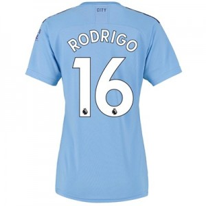 Manchester City Home Shirt 2019-20 – Womens with Rodrigo 16 printing All items