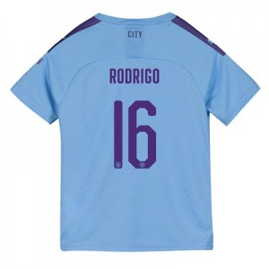 Manchester City Cup Home Shirt 2019-20 – Kids with Rodrigo 16 printing All items