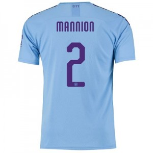 Manchester City Cup Home Shirt 2019-20 with Mannion 2 printing All items