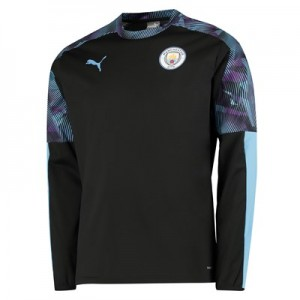 Manchester City Training Rain Top – Black All items
