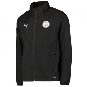Manchester City Training Rain Jacket – Black All items