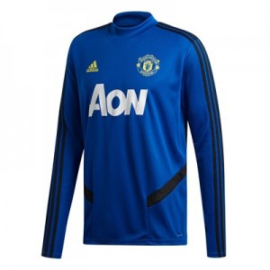 Manchester United LS Training Top – Blue All items