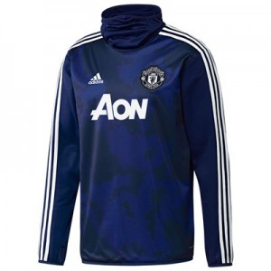Manchester United Pre Match Warm Top – Blue All items