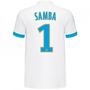 Olympique de Marseille Home Shirt 2017-18 with Samba 1 printing All items