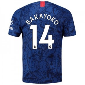 Chelsea Home Stadium Shirt 2019-20 with Bakayoko  14 printing