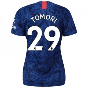 Chelsea Home Stadium Shirt 2019-20 - Womens with Tomori 29 printing