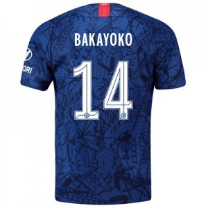 Chelsea Home Cup Stadium Shirt 2019-20 with Bakayoko  14 printing