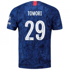 Chelsea Home Cup Stadium Shirt 2019-20 with Tomori 29 printing