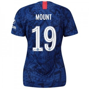 Chelsea Home Cup Stadium Shirt 2019-20 - Womens with Mount 19 printing