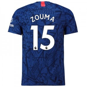 Chelsea Home Vapor Match Shirt 2019-20 with Zouma  15 printing