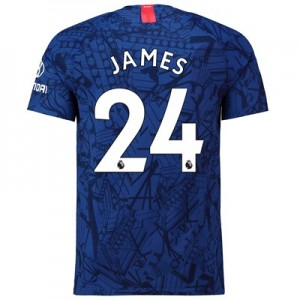 Chelsea Home Vapor Match Shirt 2019-20 with James 24 printing
