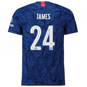 Chelsea Home Cup Vapor Match Shirt 2019-20 with James 24 printing