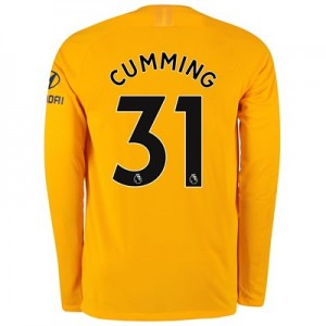 Chelsea Home Stadium Goalkeeper Shirt 2019-20 - Long Sleeve with Cumming 31 printing