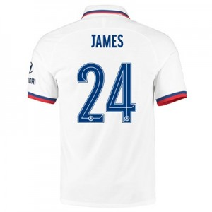 Chelsea Away Cup Vapor Match Shirt 2019-20 with James 24 printing