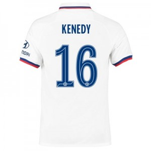 Chelsea Away Cup Stadium Shirt 2019-20 with Kenedy 16 printing