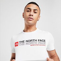 The North Face Stack Logo T-Shirt - White - Mens