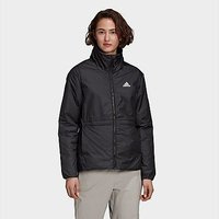 adidas BSC 3-Stripes Insulated Winter Jacket - Black - Womens