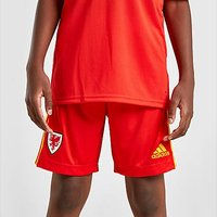 adidas Wales 2020 Home Shorts Junior - Red - Kids