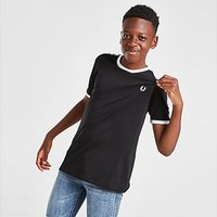Fred Perry Taped Ringer T-Shirt Junior - Black - Kids