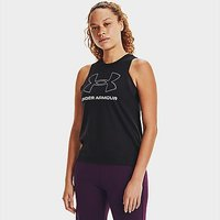 Under Armour Sportstyle Graphic Tank - Black