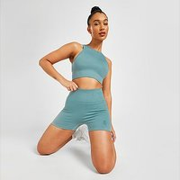 Gym King Seamless Formation Shorts - Blue