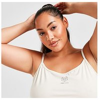 Pink Soda Sport Essential Strappy Plus Size Tank Top - White - Womens