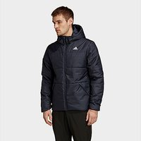 adidas BSC Insulated Hooded Jacket - Legend Ink - Mens